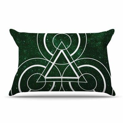 Matt Eklund Emerald City Geometric Digital Pillow Case