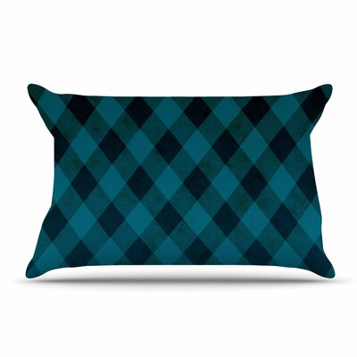 Matt Eklund Deep Current Pillow Case Color: Blue