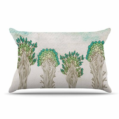 Pom Graphic Design Amazon Trees Nature Pillow Case