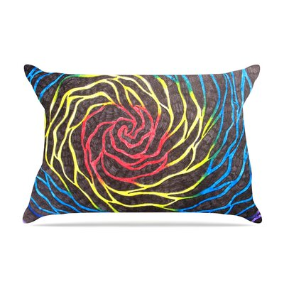 NL Designs Rainbow Vortex Illustration Pillow Case