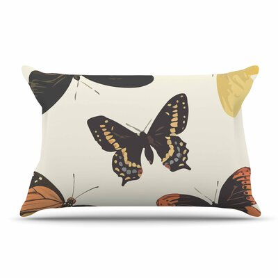 NL Designs Vintage Butterflies Pillow Case