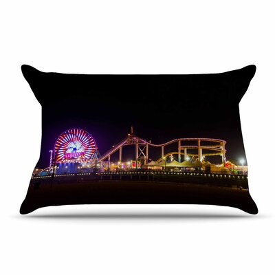 Juan Paolo Santa Monica Pier Pillow Case