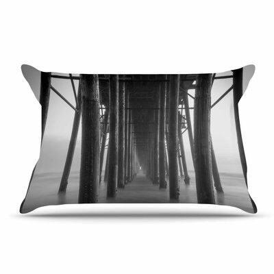 Juan Paolo Vanishing Point Coastal Photography Pillow Case