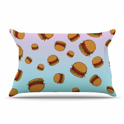 Juan Paolo Cheeseburger Paradise Pastel Pillow Case