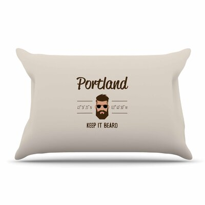 Juan Paolo Original Hipster Typography Pillow Case