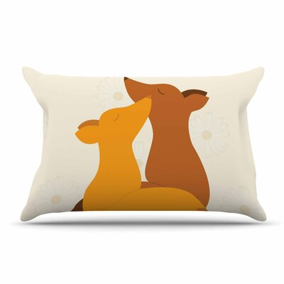 NL Designs 'Foxy Love' Pillow Case