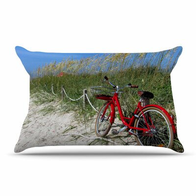Philip Brown A Day At The Beach Pillow Case