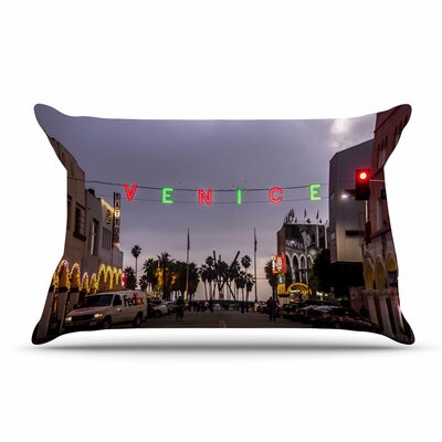 Juan Paolo Venice Christmas Holiday Photography Pillow Case