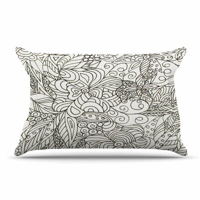 Rosie Brown Zentangle Garden Zentangle Pillow Case
