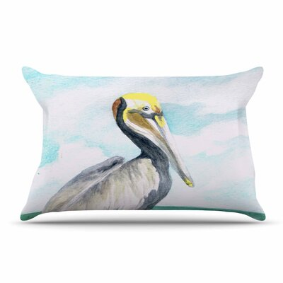 Rosie Brown Pelican Coastal Pillow Case