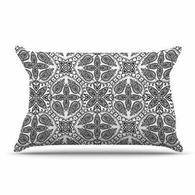 Nandita Singh Boho In Multicolor Abstract Pillow Case Color: Gray