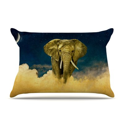 Nick Atkinson Celestial Elephant Pillow Case