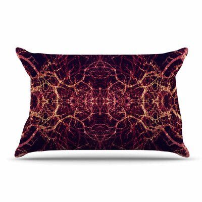 Pia Schneider Burning Roots I+Viii Abstract Pillow Case