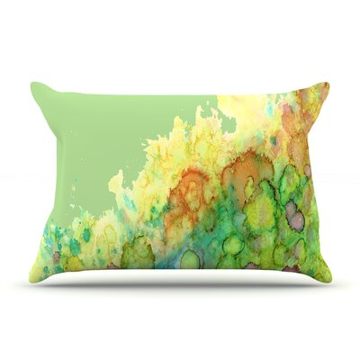 Rosie Brown Sea Life Pillow Case Color: Green