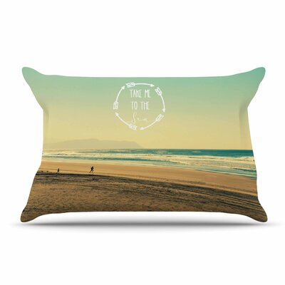 Robin Dickinson Take Me To The Sea Pillow Case