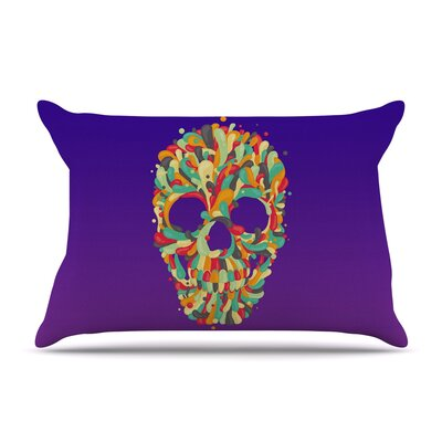 Roberlan Jelly Skull Pillow Case