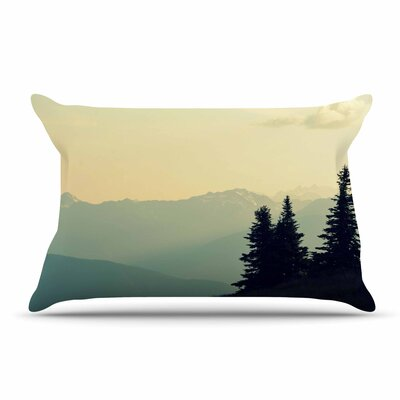 Robin Dickinson A Wonderful World Landscape Pillow Case