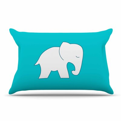 NL Designs Cute Elephant Animals Pillow Case