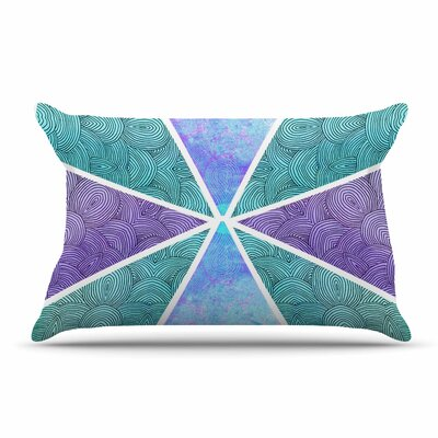 Pom Graphic Design Reflective Pyramids Pillow Case
