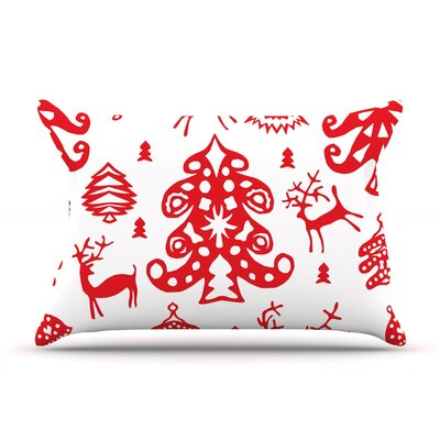 Miranda Mol Frosted Landscape Holiday Pillow Case