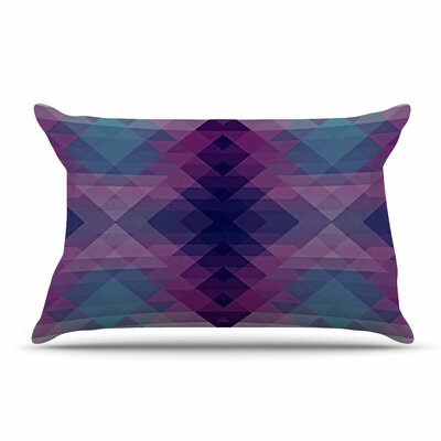 Nika Martinez Hipsterland Ii Pillow Case Color: Purple/Teal