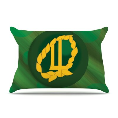 NL Designs Jupiter Emerald Pillow Case