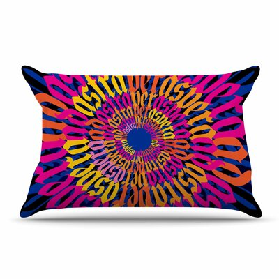 Roberlan Ad Astra Per Aspera Mandala Pillow Case