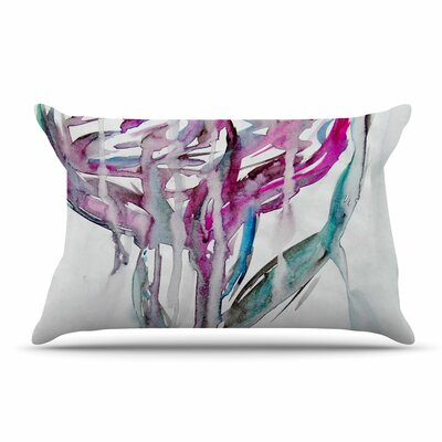 Malia Shields Lovely Watercolor Flower Floral Pillow Case