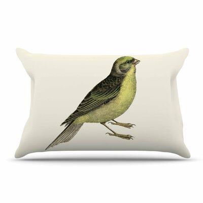 NL Designs 'Vintage Bird 2' Animals Pillow Case