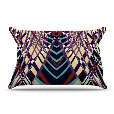 Pia Schneider Sweeping Line I-E Geometric Pillow Case