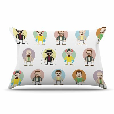 Juan Paolo The Stages Of Walter White Breaking Bad Pillow Case