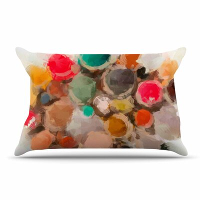 Oriana Cordero La Maddalena Abstract Pillow Case