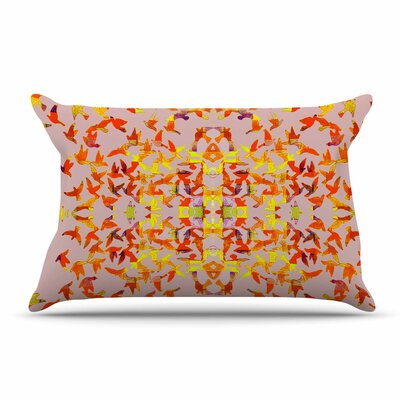 Marianna Tankelevich Flying Birds Abstract Pillow Case
