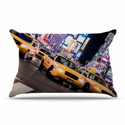 Juan Paolo Rush Hour Travel Urban Pillow Case