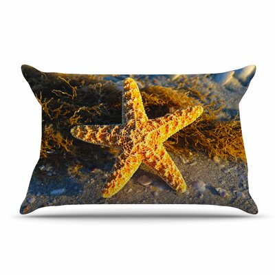 Philip Brown Starfish Coral Pillow Case