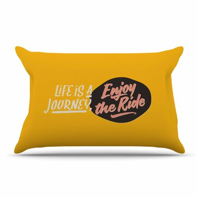 Juan Paolo Enjoy The Ride Vintage Pillow Case