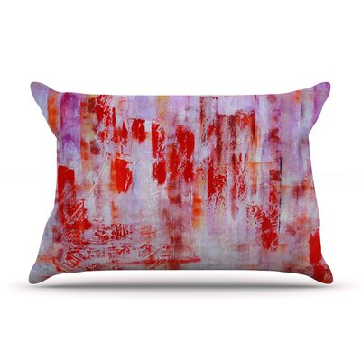 Malia Shields Painted Cityscape Pillow Case