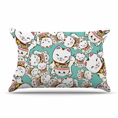 Juan Paolo Ramen Cats Pillow Case