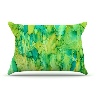 Rosie Brown Going Green Emerald Pillow Case