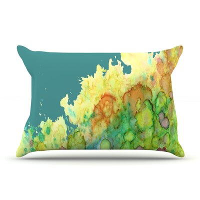 Rosie Brown Sea Life Pillow Case Color: Teal