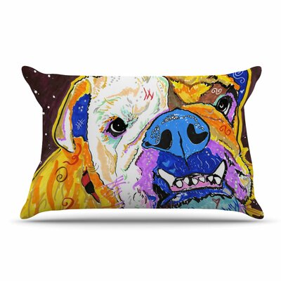 Rebecca Fisher Tucker Bulldog Pillow Case