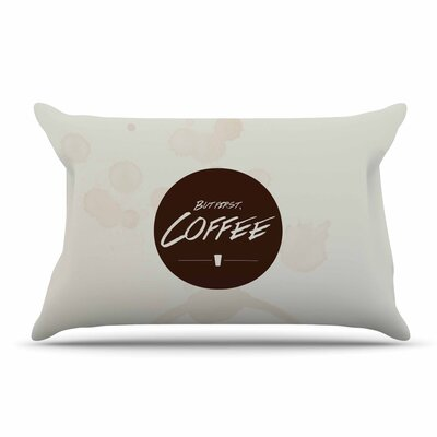 Juan Paolo But First, Coffee Pillow Case