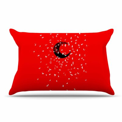 BarmalisiRTB Moon Pillow Case