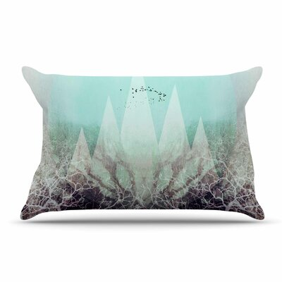 Pia Schneider Trees Under Magic Mountains Vi Pillow Case