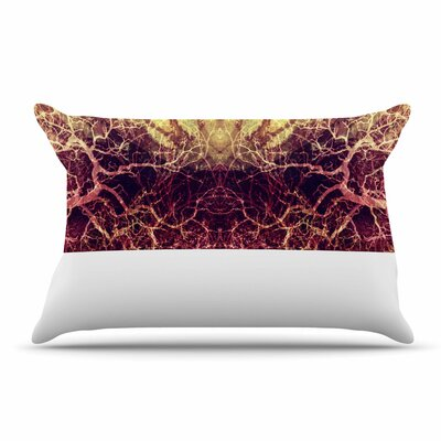 Pia Schneider Burning Roots Iv Celestial Pillow Case