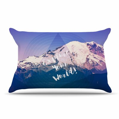 Robin Dickinson Explore Your World! Pillow Case