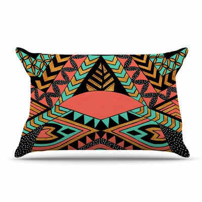 Pom Graphic Design Perunative Coral Pillow Case