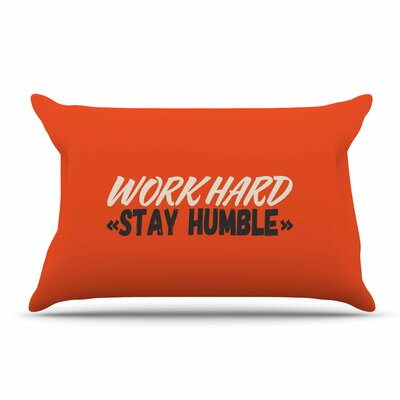 Juan Paolo Work Hard Stay Humble Digital Vintage Pillow Case