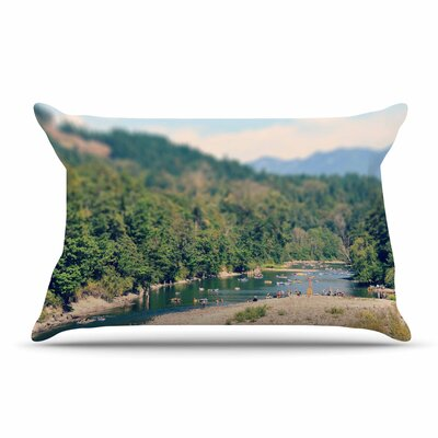 Robin Dickinson Summertime Float River Pillow Case