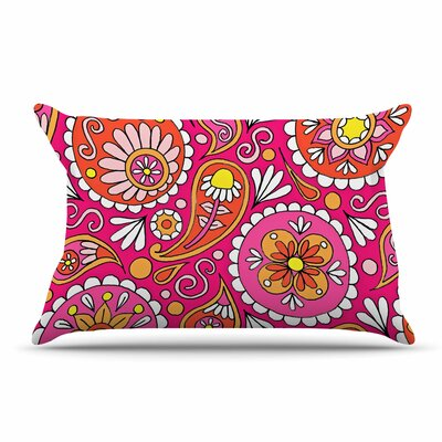Sarah Oelerich Paisley Pop Pillow Case
